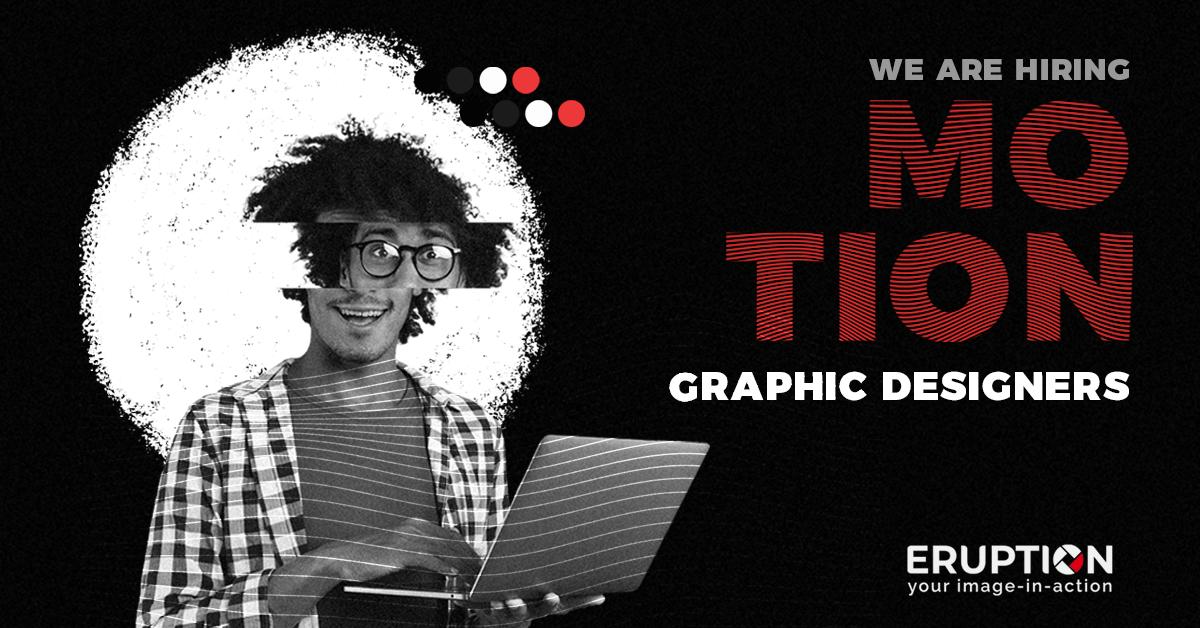 Motion Graphic Designers