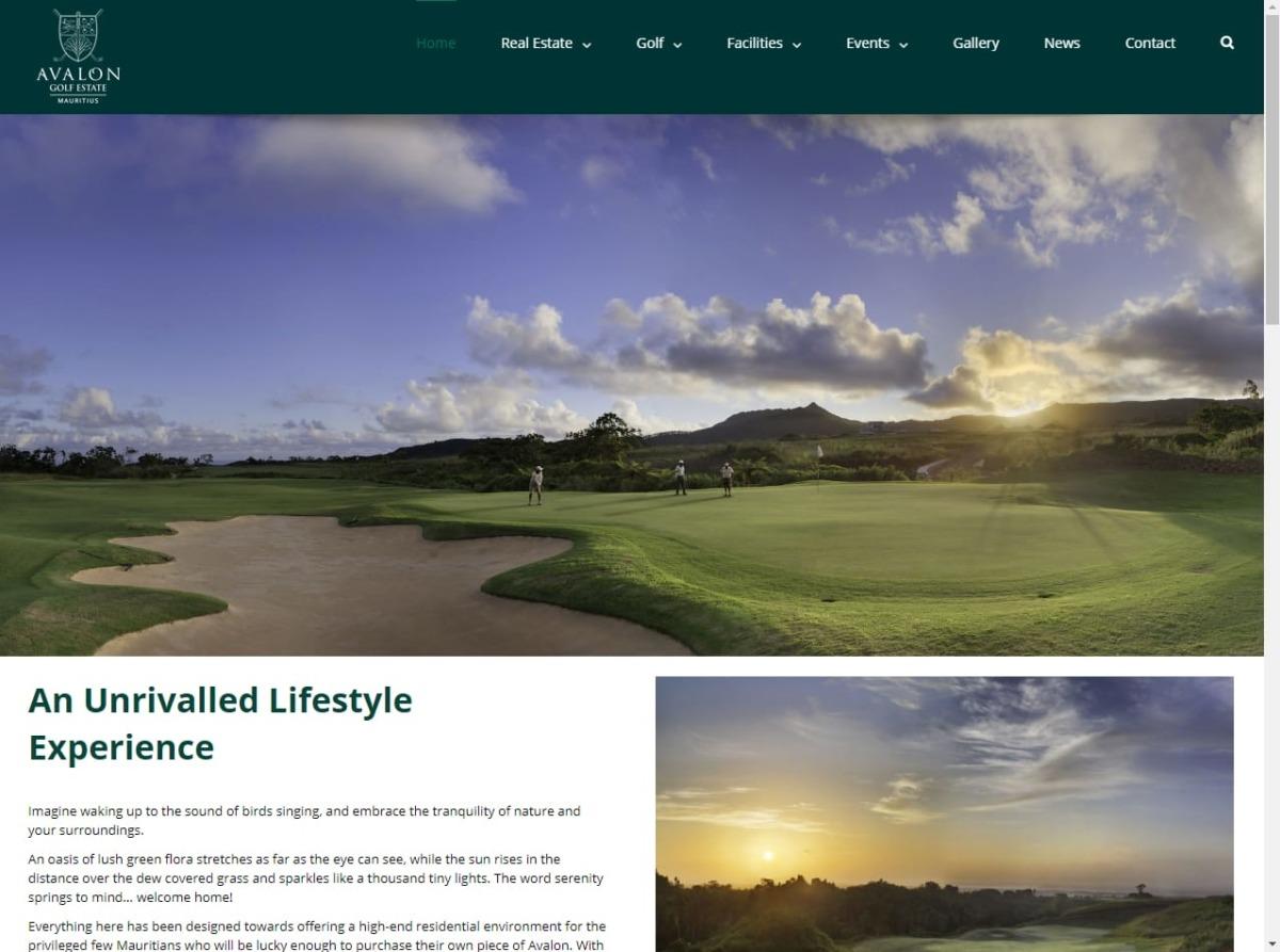 Avalon website