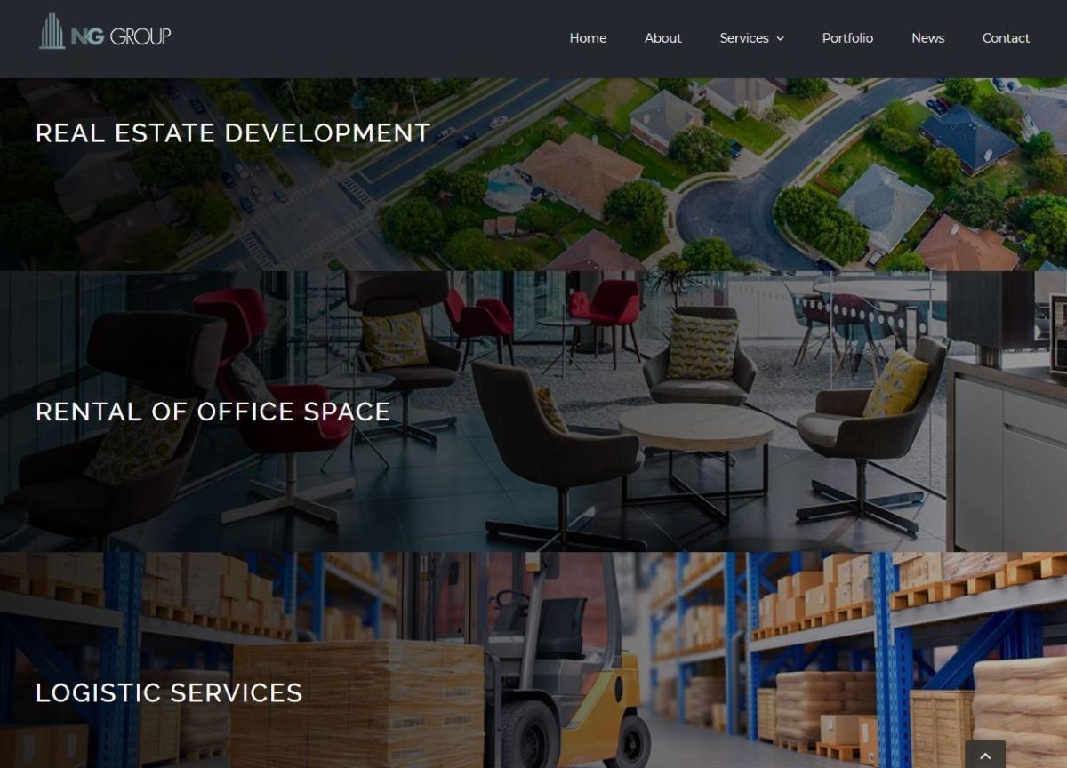 ng-group website